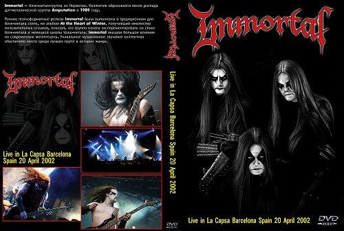 Immortal - La Capsa Barcelona (2002)
