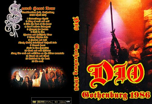 Dio - Live In Gothenburg, Sweden (1986)