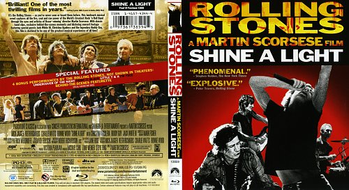 Rolling Stones: Да будет свет / Rolling Stones a Martin Scorsese film Shine A Light (2008)