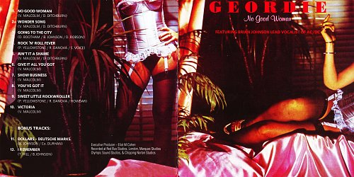 Geordie - No Good Woman (1978 Red Bus Records, London, GB; 2000 Russia)