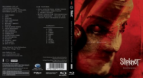 Slipknot - Audible Visions Of (sic)nesses. Live At Dounload Festival, England 13.06.2009 (2010)