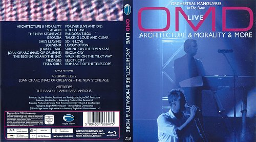 OMD (Orcherstral Manoeuvres In The Dark) - Architecture & Morality & More Live (2007)