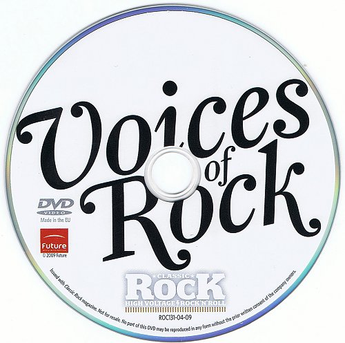V.A. - Voices Of Rock - 15 Fantastic Singers