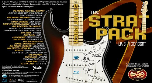 V.A. - The Strat Pack In Concert 2004 Celebrating 50 Years Of The Fender Stratocaster (2008)