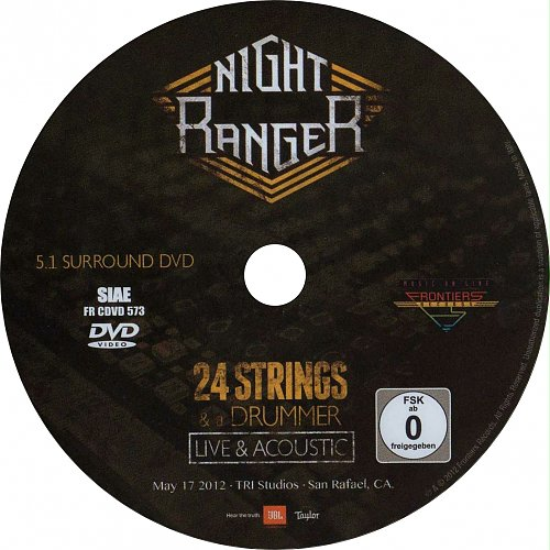 Night Ranger-24 Strings & a Drummer(2012)