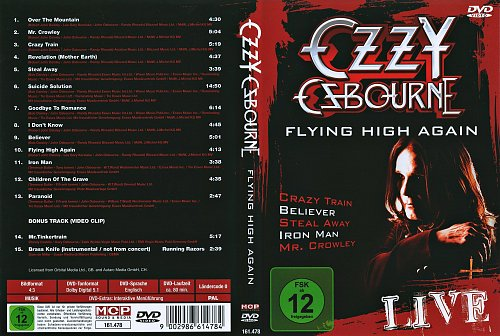 Ozzy Osbourne - Flying High Again Live