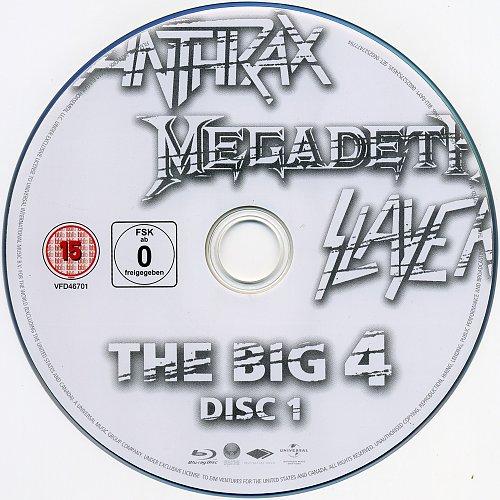 V.A. - The Big 4: Live From Sonysphere Festival, Sofia, Bulgaria 22.06.2010 2xBD50DL (2010)