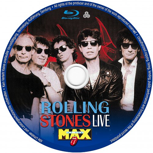 Rolling Stones, The - Live At The Max (1991, 1998)