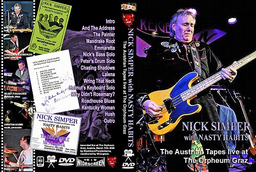 Nick Simper (ex-Deep Purple Bass) - Live Concert with Nasty Habits (2009)
