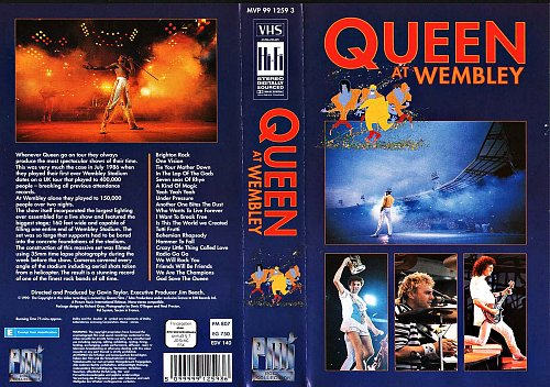 Queen - At Wembley