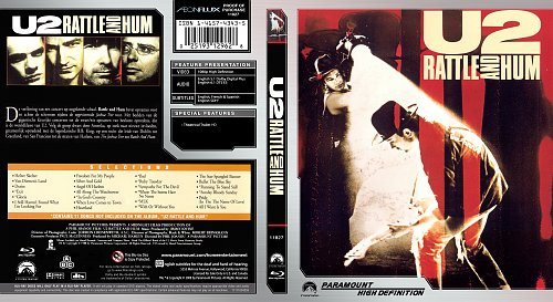 U2 Rattle and Hum (1988), Blu-Ray released 2008