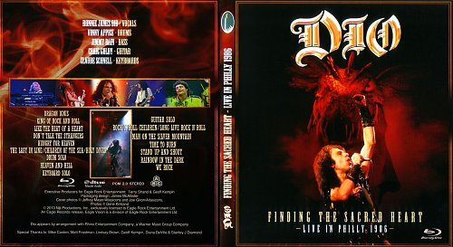 Dio - Finding the Sacred Heart, Live in Philly 1986 (2013)