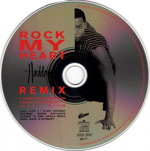 Haddaway - Rock my heart (remix) (1994)