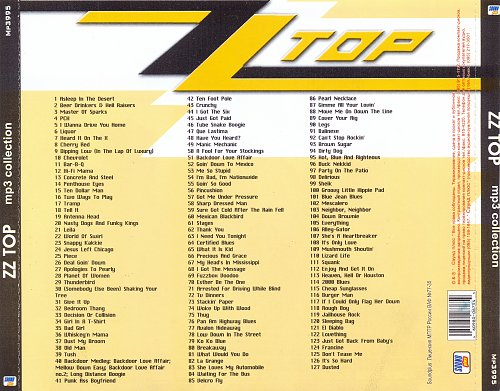 ZZ Top - mp3 collection (Sound Plus)