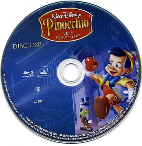 Пиноккио / Pinocchio (1940)