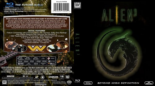 Alien 3 Blu Ray