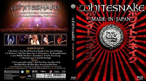 Whitesnake - Made In Japan 15.10.2011 (2013)