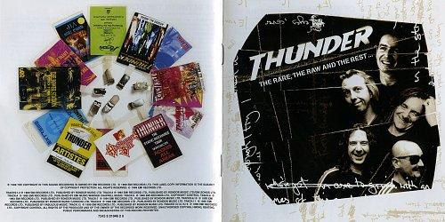 Thunder - The Rare, The Raw And The Rest... (1999 EMI Records Ltd., EU)