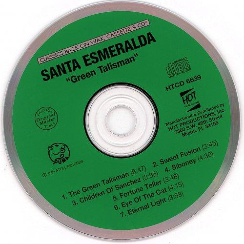 Santa Esmeralda - Green Talisman~cd