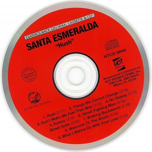 Santa Esmeralda - Hush~cd