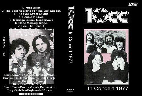 10cc - In concert (1977)