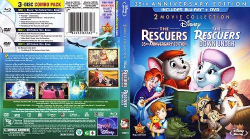 Спасатели Дилогия / The Rescuers Dilogy (1977, 1990)