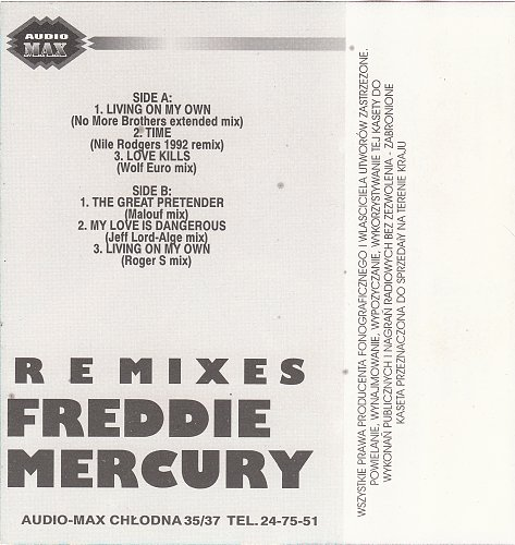 Freddie Mercury - Remixes (1993)