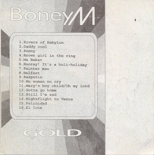 Boney M - Gold (Super Hits) (1992)