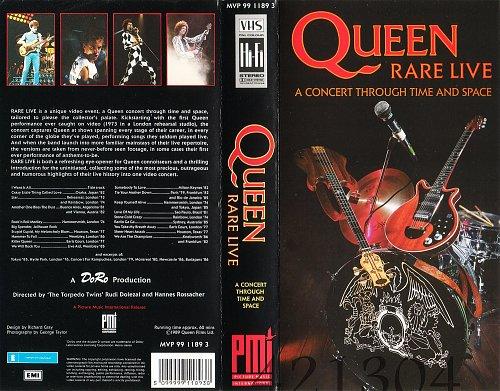 Queen - Rare Live