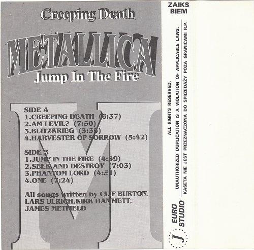 Metallica - Creeping Death / Jump In The Fire