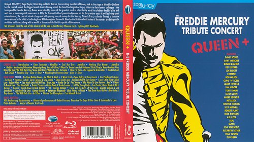 The Freddie Mercury Tribute Concert (1992) SD Blu-ray 1080i AVC DTS-HD HR 5.1