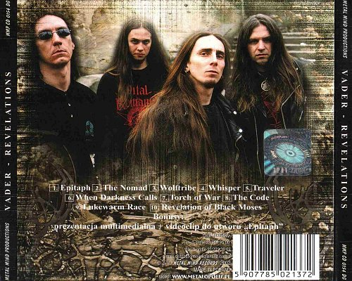 Vader - Revelations (2002 Metal Mind Records, Poland)