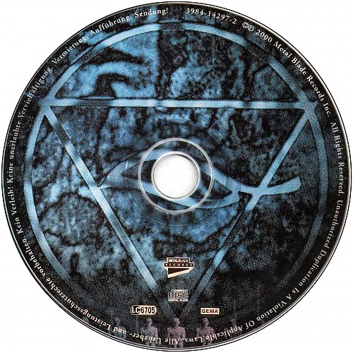Vader - Litany (2000 Metal Blade Records, Germany)