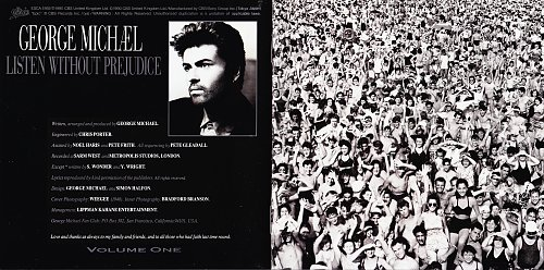 George Michael - Listen Without Prejudice, Vol. 1 (1990) / Japan