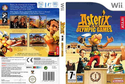 Asterix At The Olympic Game