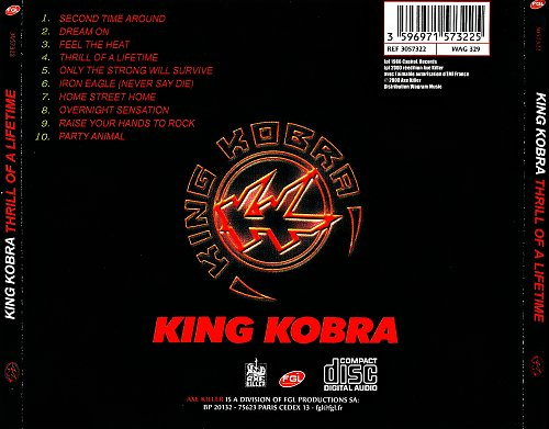 King Kobra - Thrill Of A Lifetime (1986)