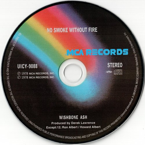 Wishbone Ash - No Smoke Without Fire (1978)