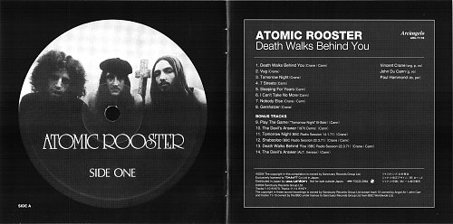Atomic Rooster - Death Walks Behind You (1971)