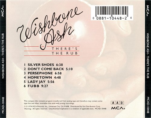 Wishbone Ash - There's The Rub (1974)