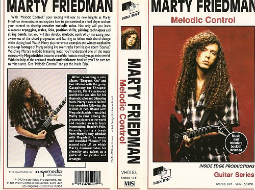 Marty Friedman - Melodic Control (1992)