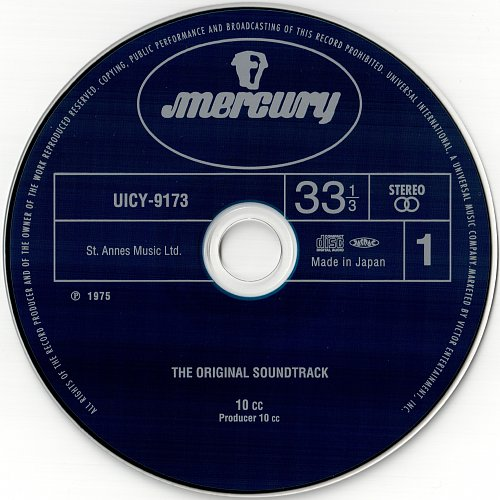 10cc - The Original Soundtrack (1975)