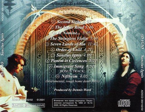 Adagio - Sanctus Ignis (2001)