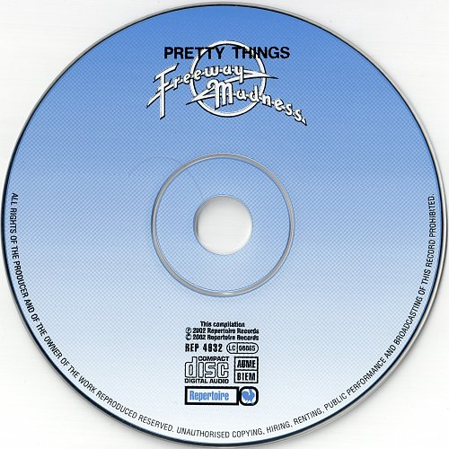 Pretty Things - Freeway Madness (1972)
