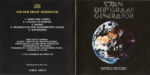 Van Der Graaf Generator - World Record (1976)