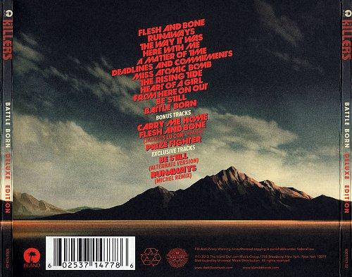 Killers - Battle Born (2011) Back