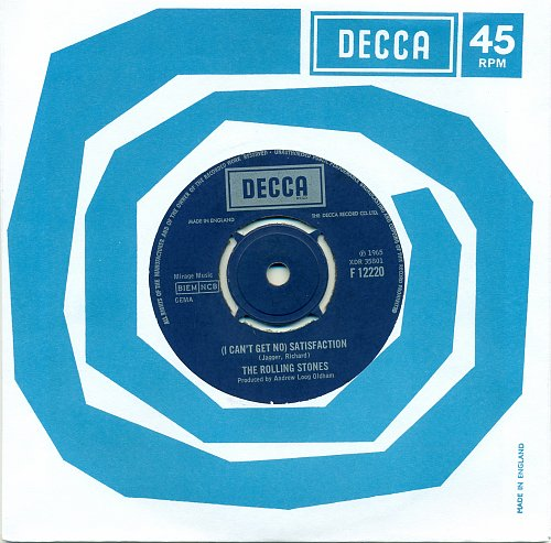 The Rolling Stones-(I Can't Get No) Satisfaction(UK)1965