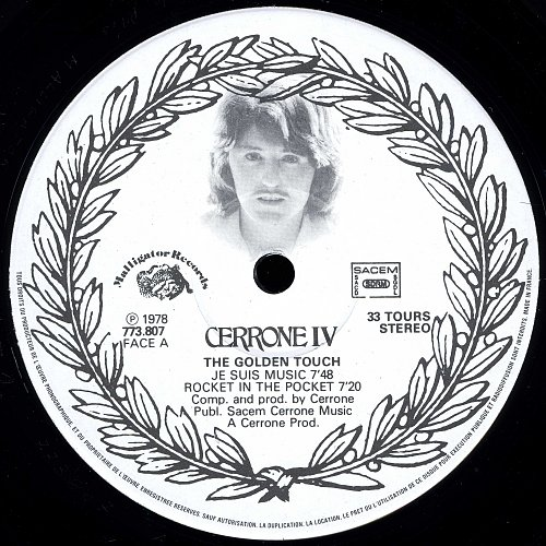Cerrone IV - The Golden Touch (Malligator - 773 807)