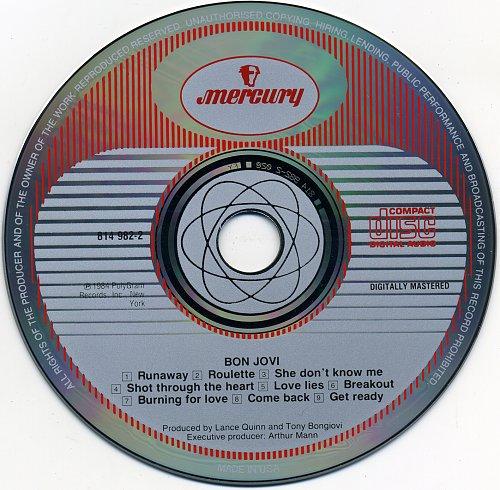 BON JOVI - Bon Jovi-1984