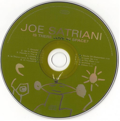 Joe Satriani - Is There Love In Space (2004)