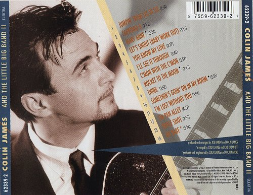 Colin James - Colin James and the Little Big Band II (1998)